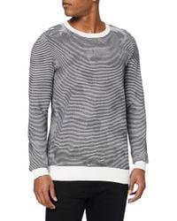 Calvin Klein White Samou Cn Sweater L/s Sweatshirt for men