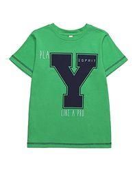 Kids RJ10394 Camiseta Esprit de hombre de color Green