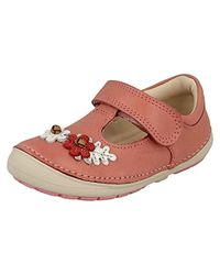 Clarks Pink Mädchen Softly Blossom Geschlossene Sandalen