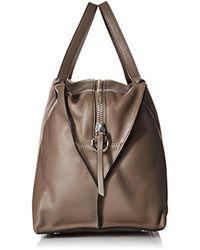 Ecco - Brown Sculptured Handbag - Lyst