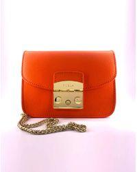 Mini borsa Bandoliera Metropolis MANDARINO f di Furla in Orange