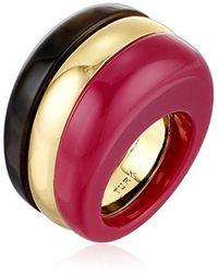 Trina Turk Multicolor Mulholland Mod Colorblock Ring, Size