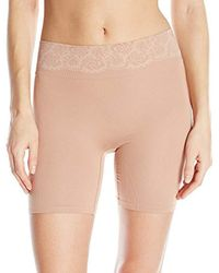 Maidenform Natural Shapewear Peek Out Shapers Shorty