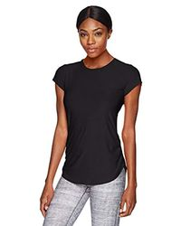 New Balance Black Wt81180 Short Sleeve,