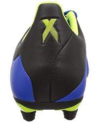 X 18.4 Firm Ground di Adidas in Multicolor da Uomo