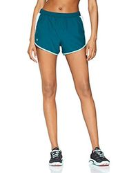 Fly by Short - Pantalón Corto Mujer Under Armour de color Blue