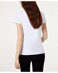 Liu Jo WA0373 J5003 T-Shirt E Canotte Donna di Liu Jo in White