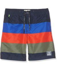 Shrunk Boardshorts Pantaloncini da Bagno di Scotch & Soda in Multicolor da Uomo