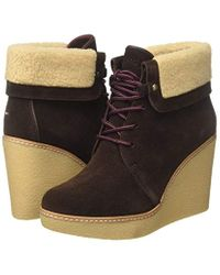 B12385randy 1bw, Botas para Mujer Tommy Hilfiger de color Brown