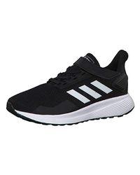 Duramo 9 C, Chaussures de Running Compétition Mixte Enfant Adidas pour homme en coloris Black