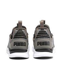 Ignite Flash Daunt, Chaussures de Running PUMA pour homme en coloris Gray