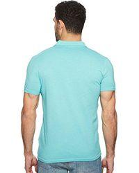 BOSS Orange Mens Garment Dyed Short Sleeve Patch Pocket Polo