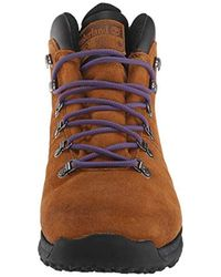 Chaussures World Hiker Mid Blue Suede Timberland pour homme en coloris Brown
