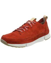 Clarks Tri Spark Sneaker in Red für Herren
