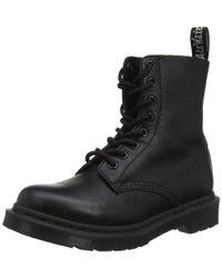 Dr. Martens Pascal Mono Black Virginia Boot schwarz EU41