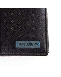 Rain Portamonete, 12 cm, 0.1 liters, Nero (Negro) di Pepe Jeans in Black da Uomo