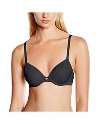 Calvin Klein - Black Naked Touch Tailored - Demi Everyday Bra - Lyst