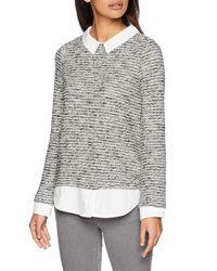 6.T.Ap.Daily. Tweed Bimateria C Camiseta de ga Larga Springfield de color Multicolor