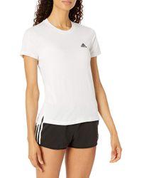 Womens Motion Tee White/Black X-Large di Adidas