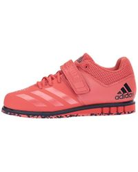 Adidas Red Powerlift.3.1 Cross Trainer, Trace Scarlet/trace Scarlet/noble Ink, 8.5 M Us for men