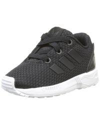 ZX Flux Adidas en coloris Black