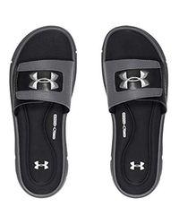 UA M Ignite V SL, Chaussures de Plage & Piscine Homme Under Armour pour homme en coloris Black
