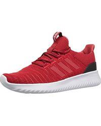adidas Cloudfoam Ultimate in Scarlet/Scarlet/Black (Red) for Men ...
