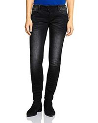 Street One Black Damen Slim Jeans