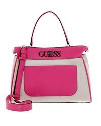 Guess Purple Ladies Hwhg73-01060-fuc Handbag