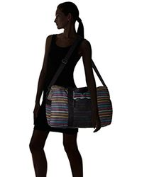 LeSportsac Black Travel Global Weekender