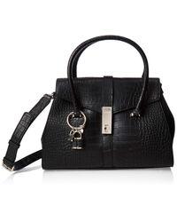 Sac de sac de sac de sac de croc noir de moco Bke Guess en coloris Black