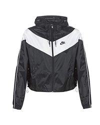 Nike W Nsw Hrtg Jkt Wndbrkr Jackets Femmes Black - Xl - Macs