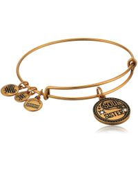 ALEX AND ANI Metallic Soul Sister Charm Bangle
