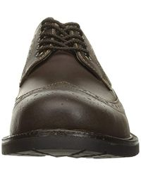 G.H.BASS Brown Andrew Oxford for men