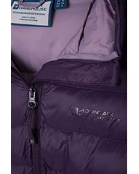 Mountain Warehouse Purple Wasserbeständige Winterjacke,