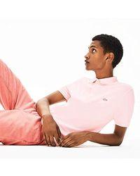 Ph5522 Polo di Lacoste in Pink da Uomo