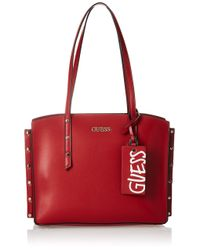 Guess Red Tia Girlfriend Carryall