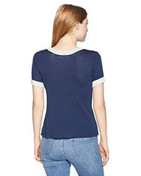 Roxy Blue Junior's Down By The River T-shirt