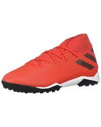Nemeziz‿19.3 TF Chaussures de Football pour Adidas en coloris Red