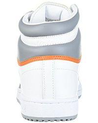 Adidas Originals Multicolor Adidas Top Ten Hi Fashion Sneaker for men