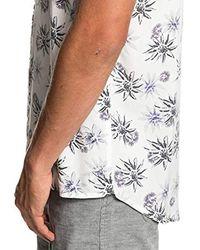 Quiksilver Kurzärmliges Hemd für Männer in Multicolor für Herren
