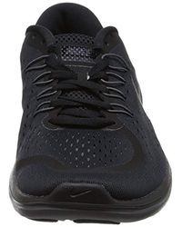 Nike Black Flex 2017 Rn Shoes - Size 8.5 for men