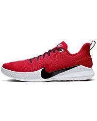 Nike Kobe Mamba Focus Basketball Shoes Red/White für Herren