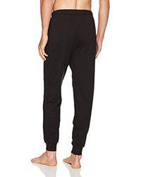 Calvin Klein Black Embroidered Logo Jogger Pant for men