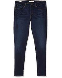 711 Skinny Jeans da Donna di Levi's in Blue