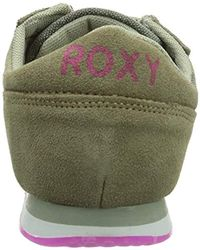 Roxy - Green Run Low-top Trainers - Lyst