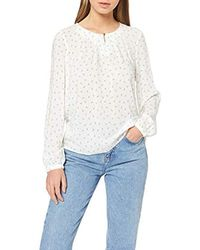 Vmeffie LS Top Wvn Camicia Donna di Vero Moda in White