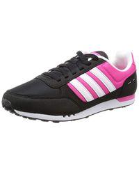City Racer W, Chaussures de Fitness Adidas en coloris Black