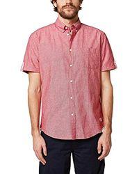 038ee2f018 Camisa Esprit de hombre de color Pink