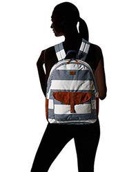 Roxy Blue S Carribean Medium Backpack Erjbp03642
